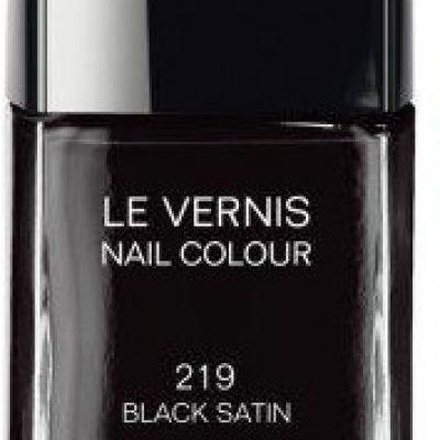 Chanel Le Vernis Lakier do paznokci nr 219 Black Satin 13ml