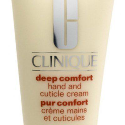 Clinique Deep Comfort Hand And Cuticle Creme Odżywczy krem do skóry dłoni i paznokci 75 ml