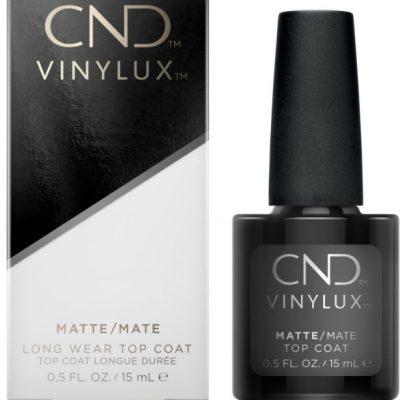 CND CND Vinylux Matte Top Coat 15ml 639370926490