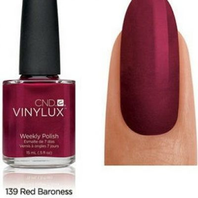 CND VINYLUX lakier 7-dniowy Red Baroness NR 139