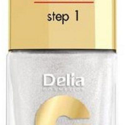 Delia Cosmetics Coral Hybrid Gel Lakier do paznokci nr 27 Srebrny 11ml Cosmetics