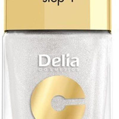Delia Cosmetics Cosmetics, Coral Hybrid Gel, emalia do paznokci 32, 11 ml