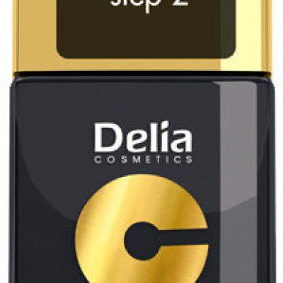 Delia Cosmetics Cosmetics, Coral Hybrid Gel, emalia do paznokci Top Coat, 11 ml
