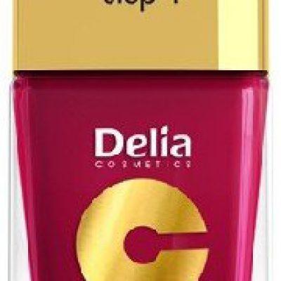 Delia Cosmetics Cosmetics, Coral Hybrid Gel, lakier do paznokci nr 06 wiśniowy, 11 ml
