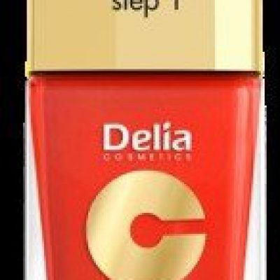 Delia Cosmetics Cosmetics, Coral Hybrid Gel, lakier do paznokci nr 14 pomarańczowa czerwień, 11 ml