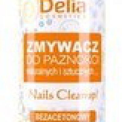 Delia Cosmetics Cosmetics, zmywacz do paznokci bez acetonu, 100 ml