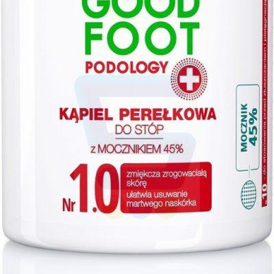 Delia Cosmetics Good Foot Podology Nr 1.0 Kąpiel perełkowa do stóp 45% Mocznika 200 g