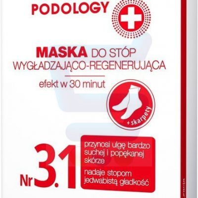 Delia Cosmetics Good Foot Podology Nr 3.1 Wygładzająco-regenerująca maska do stóp 10 ml