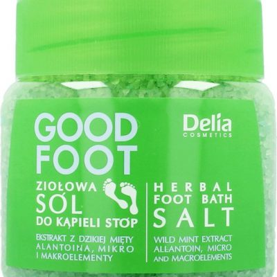 Delia Good Foot Ziołowa sól do kąpieli stóp DELIAGFSALT
