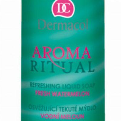 Dermacol AROMA RITUAL - LIQUID SOAP - FRESH WATERMELON - Mydło w płynie o zapachu arbuzowym DERWOAR