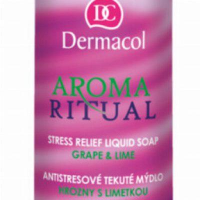 Dermacol AROMA RITUAL - LIQUID SOAP - GRAPE & LIME - Mydło w płynie o zapachu winogron i limonki DERWOWLI
