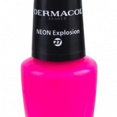 Dermacol Neon lakier do paznokci 5 ml 27 Neon Explosion