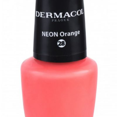 Dermacol Neon lakier do paznokci 5 ml 28 Neon Orange