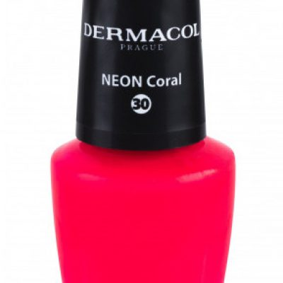 Dermacol Neon lakier do paznokci 5 ml 30 Neon Coral