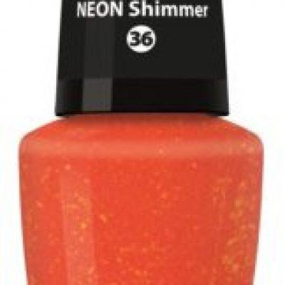 Dermacol Neon neonowy lakier do paznokci odcień 36 Shimmer 5 ml