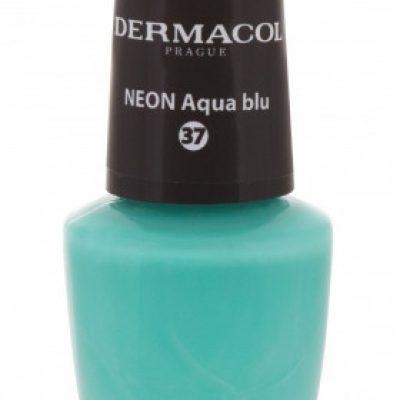 Dermacol Neon neonowy lakier do paznokci odcień 37 Aqua Blu 5 ml