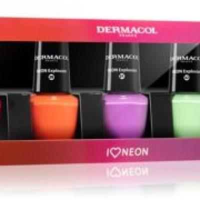 Dermacol Neon zestaw lakierów do paznokci
