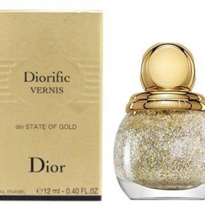 Dior CHRISTIAN Christian Diorific Vernis 001 State of gold 12ml lakier do paznokci 17709-uniw