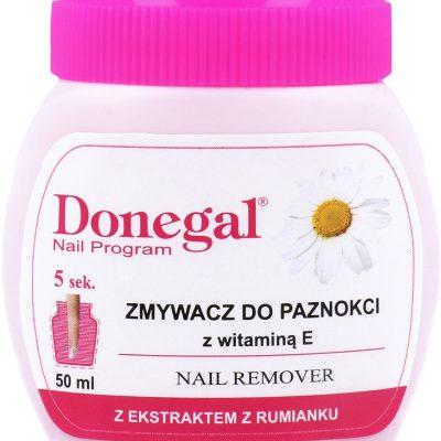 Donegal Nail Program Zmywacz Do Paznokci Z Gąbeczką Z Ekstraktem Z Rumianku 50ml