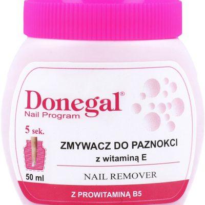 Donegal Nail Program Zmywacz Do Paznokci Z Gąbeczką Z Prowitaminą B5 50ml