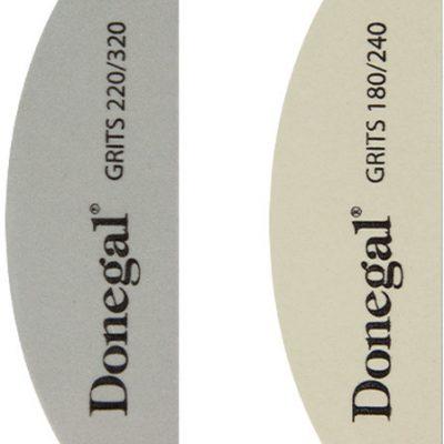 Donegal ZESTAW DO MANICURE pilnik 180/240+polerka 220/320 2080)