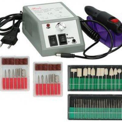ElektroStator Frezarka Elektryczna do paznokci Manicure Pedicure 12W + Frezy D84 D84