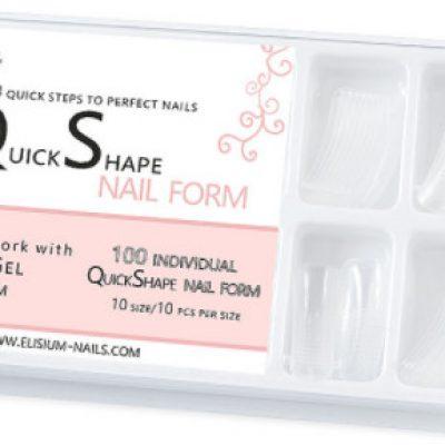 Elisium Elisium Szablony Form Quick Shape nail form formy do flexygel 5902539707885