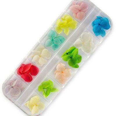 Em nail professional kwiatki do zdobień 12 kolorów 5903041809661