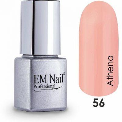 Em nail professional Lakier hybrydowy Easy 3W1 Athena 56 - Pomarańczowy 56 Athena 5903041825180