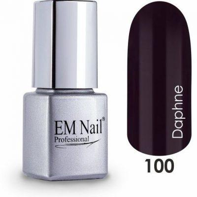 Em nail professional Lakier hybrydowy Easy 3W1 Daphne 100 - Brązowy 100 Daphne