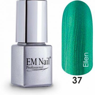 Em nail professional Lakier hybrydowy Easy 3W1 Ellen 37 - Zielony 37 Ellen 5903041806400
