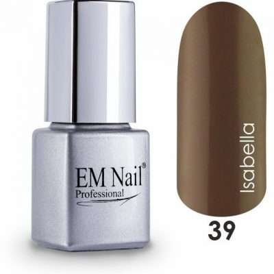 Em nail professional Lakier hybrydowy Easy 3W1 Isabella 39 - Brązowy 39 Isabella