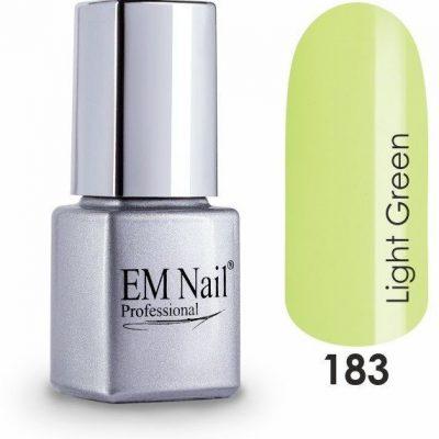 Em nail professional Lakier hybrydowy Light Green 183 - 183 Light Green