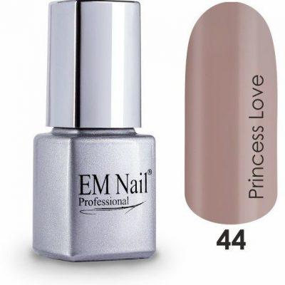 Em nail professional Lakier hybrydowy Premium Princess Love 44 - Brązowy 44 Princess Love