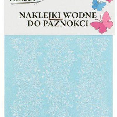 Em nail professional Naklejki wodne do paznokci - Kwiatki 3 (S338)