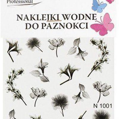 Em nail professional Naklejki wodne do paznokci - Kwiatki 7 (N1001) 5903041823575