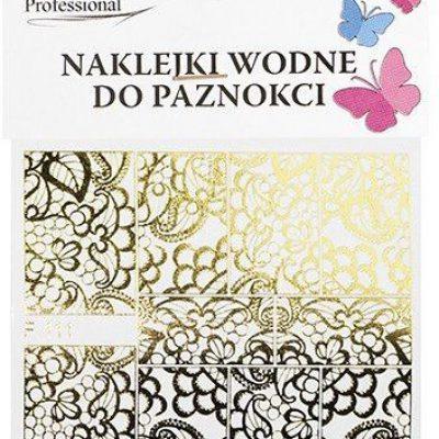 Em nail professional Naklejki wodne do paznokci - Kwiatki (F111) 5903041823599
