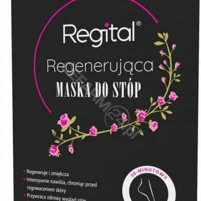 Equalan Regital regenerująca maska do stóp 1 para