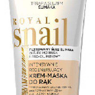 Eveline COSM Royal Snail intensywnie regenerujący krem maska do rąk 100 ml