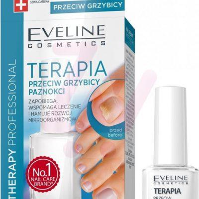 Eveline Nail Therapy Professional odżywka terapia przeciw grzybicy paznokci 12ml