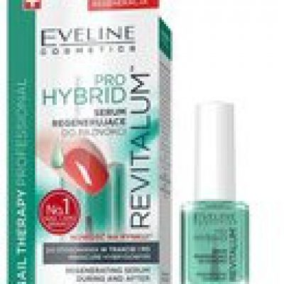 Eveline Nail Therapy, serum regenerujące do paznokci Pro Hybrid Revitalum, 12 ml