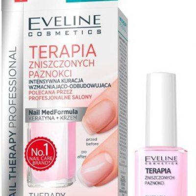 Eveline Terapia zniszczonych paznokci kuracja wzmacjniająca 12ml