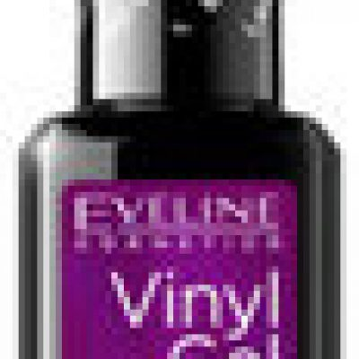 Eveline Vinyl Gel, lakier do paznokci i top coat 2w1 215, 12 ml