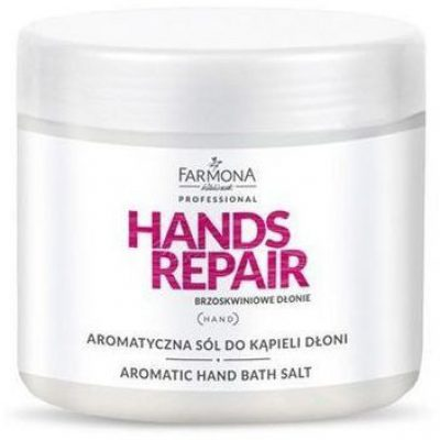 FARMONA PROFESSIONAL Farmona Hands Repair Brzoskwiniowa Sól Do Kąpieli Dłoni 600g PRO1204