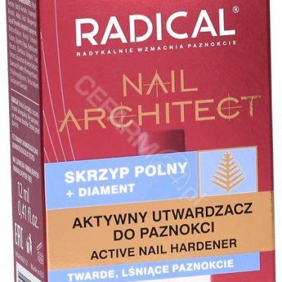 FARMONA Radical Nail Architect aktywny utwardzacz do paznokci 12 ml