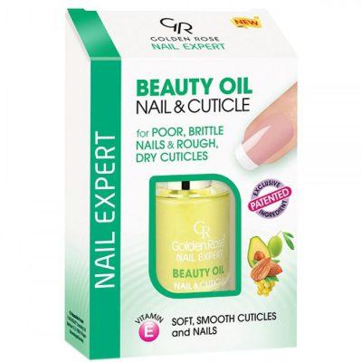 Golden Rose Nail Expert Beauty Oil Nail Cuticle, odżywczy olejek do paznokci i skórek, 11 ml