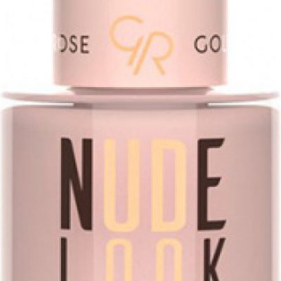 Golden Rose NUDE LOOK - Perfect Nail Color - Lakier do paznokci - 03 - DUSTY NUDE GOLL0NU