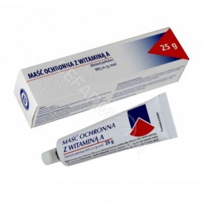 Hasco LEK Maść ochronna z vitaminą a 25 g