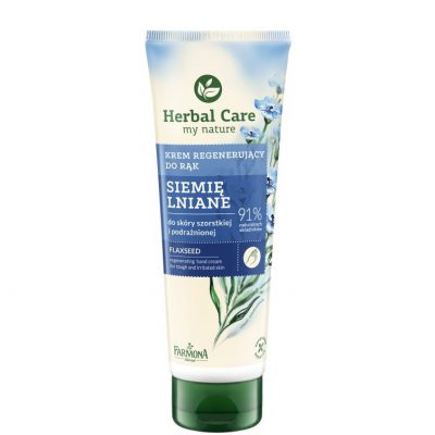 Herbal Care krem odżywczy do rąk Siemię Lniane 100ml
