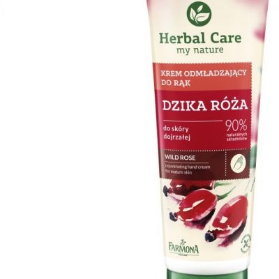 Herbal Care krem odżywczy do rąk z Dziką Różą 100ml